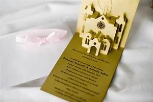6 unique wedding invitation ideas moonlight for Pop up book wedding invitations