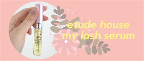 My Lash Serum taeheedaily etude house my lash serum a review and a