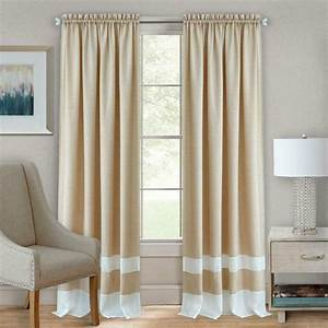 2, pack, shabby, linen, farmhouse, sheer, flax, window, curtains, -, taupe, , 63, in, , long