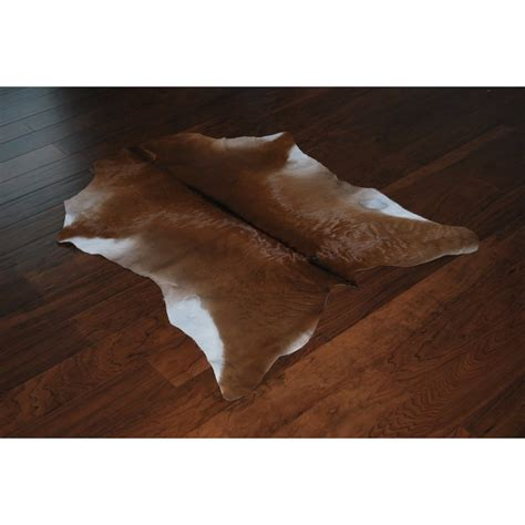 Skin Rug With by Calf Hide Skin Rug