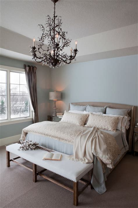 Pale Blue Bedroom by Pale Blue Master Bedroom Traditional Bedroom Other