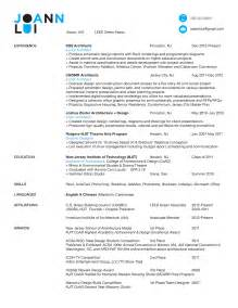 intern architect resume exles architect resume resume cv template exles
