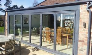 kitchen diner extension ideas bi fold doors nottingham vivaldi construction