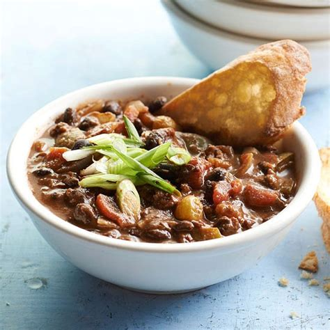 beef and black bean chili better homes and gardens magazine december 2012 eat your books