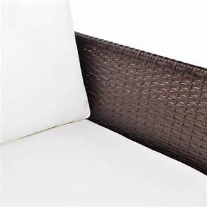 acheter vidaxl meuble de jardin avec canape a 3 places With tapis d entrée avec canape 120 de large