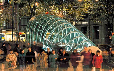 metro bilbao station foster  partners archocom
