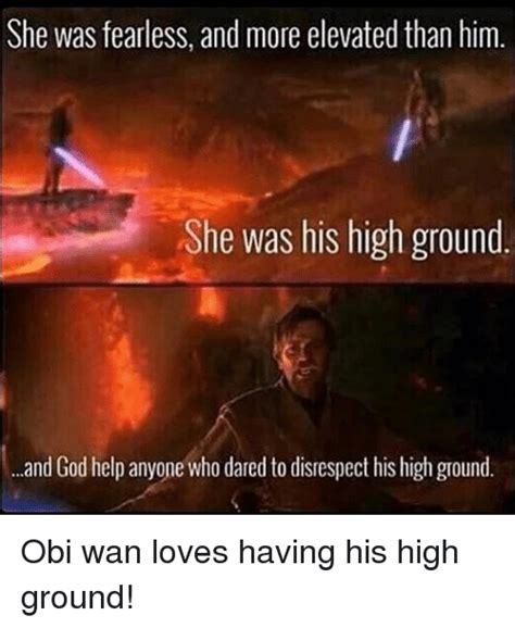 High Ground Memes - funny obi memes of 2017 on sizzle fucking kids