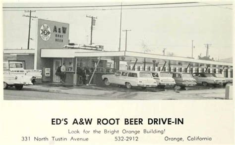 eds aw root beer  tustin ave  orange ca www