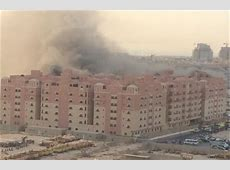 Fire at Aramco workers' compound kills two; 105 hurt