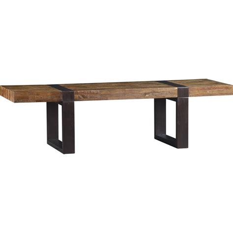 Crate And Barrel Seguro Rectangular Coffee Table Decor