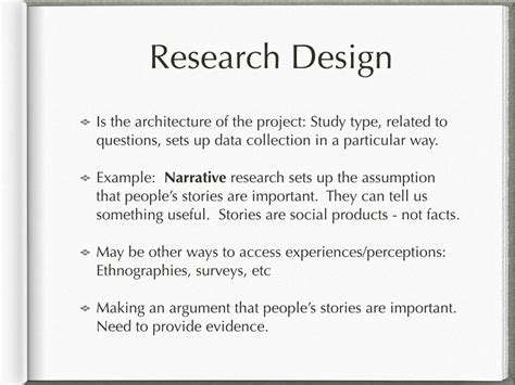 exle of research design writing the methodology chapter in a dissertation