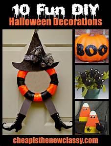 Deco Halloween Diy : 10 fun and spooky diy halloween decorations ~ Preciouscoupons.com Idées de Décoration