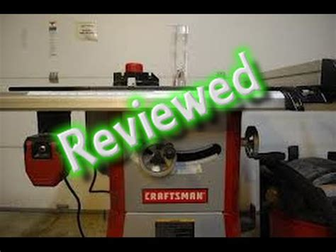 Craftsman Saw 21833 Review 6 Months Later Youtube