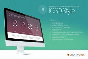 Powerpoint Design Template Ios 9 Style Powerpoint Template Powerpoint Templates