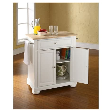 portable kitchen island target alexandria wood top portable kitchen island 4360