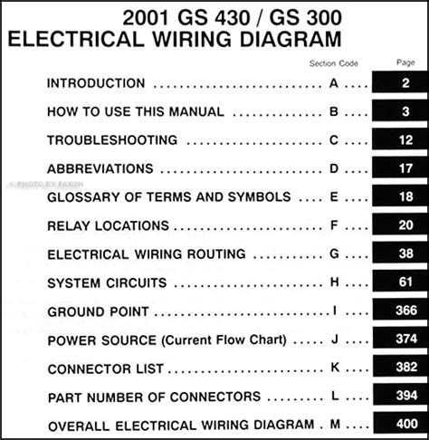 lexus gs300 wiring diagram 26 wiring diagram images