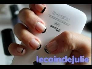 French Manucure Couleur : technique pour une french manucure simple et rapide ~ Nature-et-papiers.com Idées de Décoration