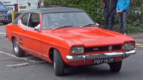 Classic Fords by Classic Fords Leaving A Car Meet April 12