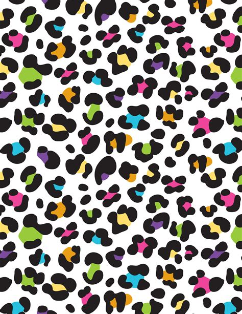 Colorful Animal Print Wallpaper - colorful cheetah leopard print gifts for throw