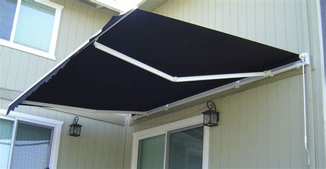 luxury retractable folding arm awning    beige