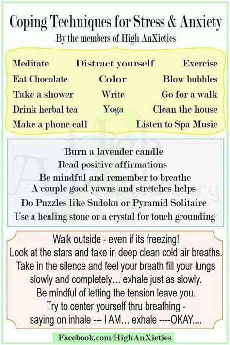 25+ Best Ideas About Coping Skills For Depression On Pinterest  Depression Self Help, Anxiety