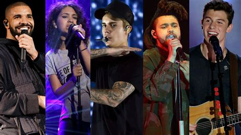Canadian Artists Score Big Globally In 2015