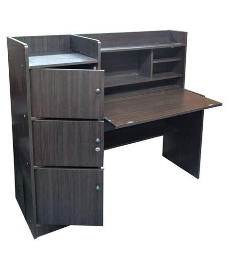 best prices on desks eros study table desk with storage cabinet buy eros