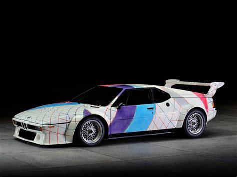 Bmw M1 Procar Art Car By Frank Stella Wallpapers Car