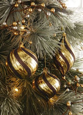 brown and gold christmas decorations collections etc find unique online gifts at collectionsetc com