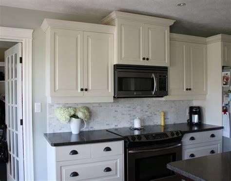 white kitchen cabinets with dark countertops my kitchen white cabinets dark counters dark drawer