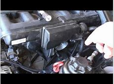 2004 BMW E60 525i Starter Motor Replacement YouTube