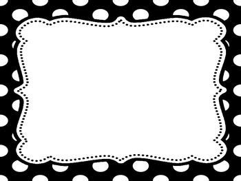 classroom rules  brain teaching polka dots polka