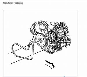 Needing A Diagram For Alternator Belt Installation