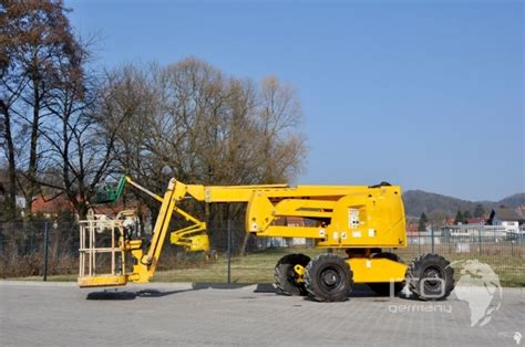Articulated Telescopic Lift Haulotte Ha16px Used Manlift