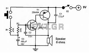 siren circuit page 3 security circuits nextgr With sirenswitch circuit