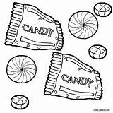 Candy Coloring Pages Chocolate Sweets Printable Bar Drawing Sheets Line Toy Candyland Peppermint Simple Colouring Land Candies Hershey Gingerbread для sketch template