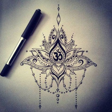 tatouage mandala om en dessin tatouage femme