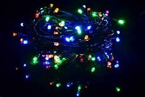 Led Weihnachtsbeleuchtung Außen : 100er led lichterkette bunt gr nes kabel innen au en weihnachtsbeleuchtung 20 m kaufen bei ~ Frokenaadalensverden.com Haus und Dekorationen
