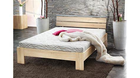 Bett Sleep Sonoma Eiche Inkl Rollrost Und Matratze 140x200