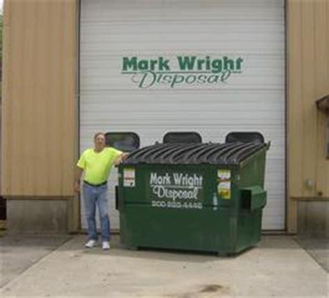 dumpster sizes mark wright disposal