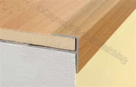 wood stair nosing aluminium wood effect stair edge nosing trim step nose edging nosings a60 ebay