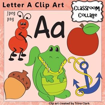 a color that starts with a letter a alphabet clip items start w letter a sound