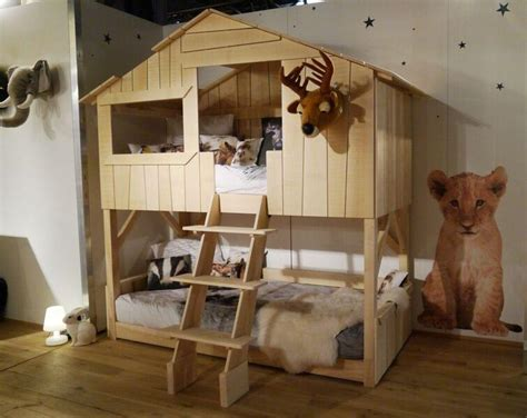 mathy  bols tree house bunk bed wooden diddle tinkers