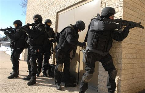 rise   swat team routine police work  canada