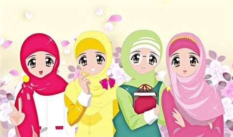 gambar wallpaper lucu gerak wallpaper gambar kartun muslimah keren terbaru blog teraktual