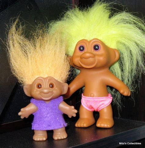 Blue Hair Troll Doll