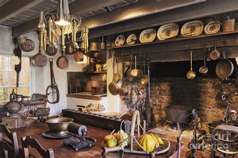Antique Kitchen Photograph By Jeremy Woodhouse