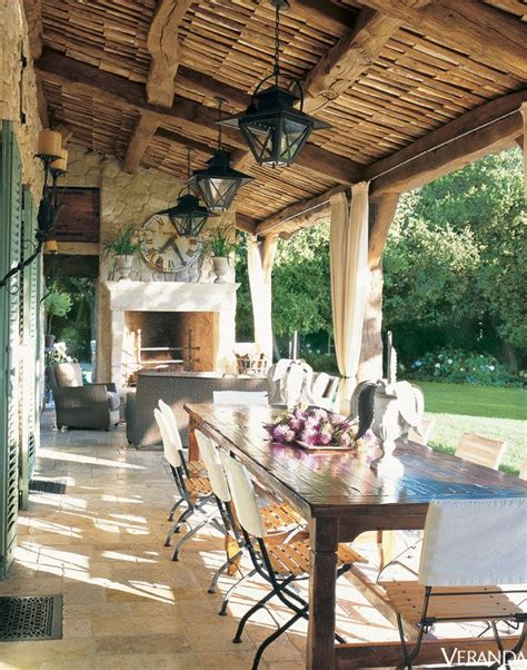 not shabby bismarck atlanta based designer ginny magher s farmhouse in provence french homes in veranda