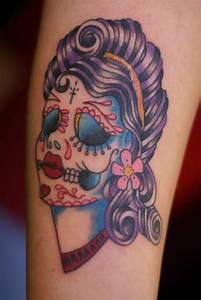 Tattooz Designs: Sugar Skull Tattoo Meaning  Skull Tattoo ...