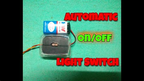 Automatic Off Light Switch Simple